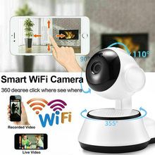 цена на HD 720P Home Security Surveillance IP Camera Wireless Smart WiFi Head Rotation Audio Record Baby Monitor HD Mini Camera D30