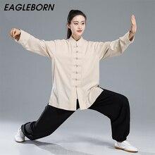 החדש קונג פו Taichi אחיד סיני שמלת סט לנשים סיני בגדים לגברים מסורתי סיני בגדי לנשים אחיד