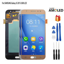 AMOLED LCD For SAMSUNG Galaxy J5 2015 J500 LCD Display Touch Screen J500H J500FN J500F J500M SM-J500F Touch Screen LCD Digitizer new tested lcd for samsung galaxy j5 j500 j500f j5008 screen display with touch digitizer tools assembly 1 piece free shipping
