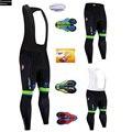 6XL мужские черные штаны SOTTOLI для велоспорта с длинным рукавом  зимние 20D гелевые накладки для велосипеда  трико Mtb Ropa Ciclismo  влагоотводящие шта...