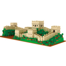Toys Building-Blocks Educational-Bricks Architecture Great-Wall Christmas The City-Set