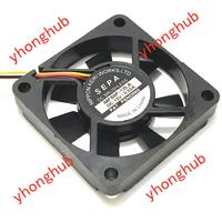 Emacro For SEPA MF50F 12LA DC 12V 0.02A 50x50x10mm 3 Wire Server Square Fan