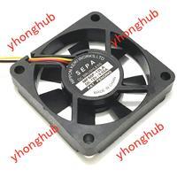 Sepa MF50F-12LA dc 12 v 0.02a 50x50x10mm ventilador quadrado do servidor de 3 fios