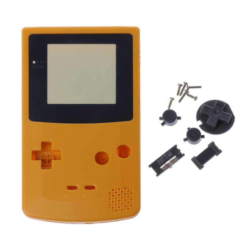 New Full Housing Shell Cover for Nintendo Game boy Color GBC Repair Part Housing Shell Pack Q84A image