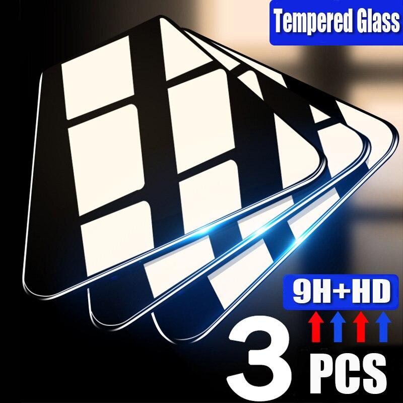 3 шт. Защитное стекло для Huawei P40 P30 P20 Lite рro E 5G, Защитное стекло для экрана для Huawei P10 плюс P9 Lite