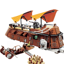 Парусная баржа из фильма «Звездные войны» Джабба, спаси принцессу Лею, возвращение джедаев, серия из фильма «Звездные войны», строительные блоки, игрушки, подарок для детей, Звездные войны