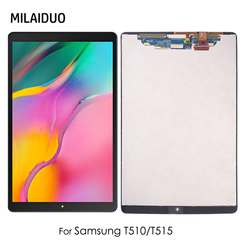 """LCD For Samsung Galaxy T510 T515 SM-T515 SM-T510 T510N Tab A 10.1 2019 10.1"""" LCD Display Touch Screen Digitizer Assembly"""