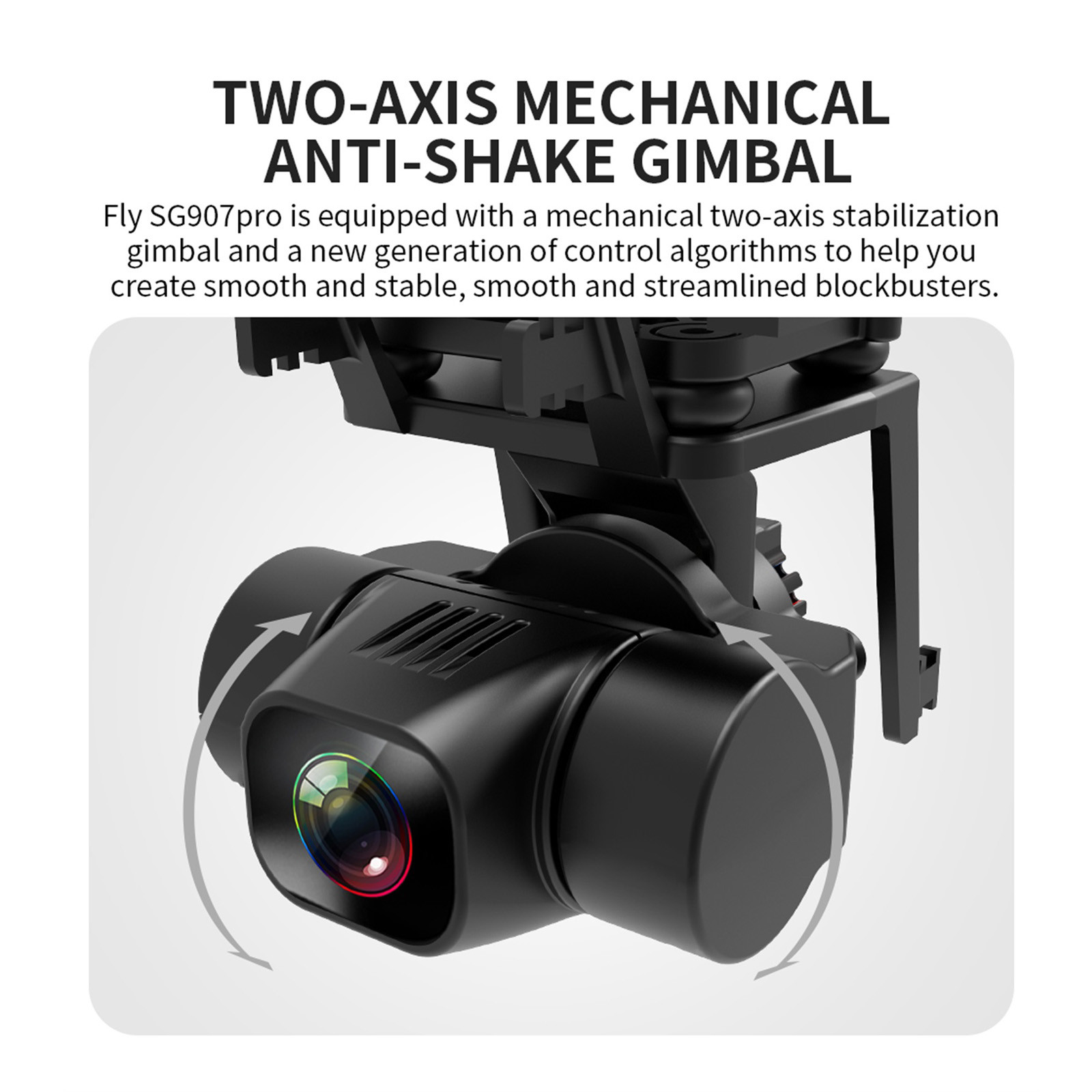 H5377a9245ed549cc9b1c1da2001bd46aS - 2020 New Sg907 Pro 5g Wifi Drone 2-axis Gimbal 4k Camera Wifi Gps Rc Drone Toy Rc Four-axis Professional Folding Camera Drones