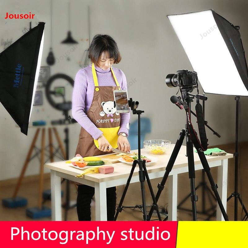 Комплект для фотосъемки, портретная одежда, детский видеосъемка в помещении, софтбокс для фотографий, оборудование CD50 T07