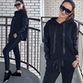 Autumn Set Women Casual Tracksuit Nice Long Sleeve Pullover Hoodies Pants Set Sportwear Tracksuits Outfit