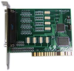 Ac6652e PCI bus IO board isolated 16 in 16 out switch input and output cards