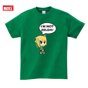 Boys T-Shirt Zelda Short-Sleeve Toddler Child Cotton Summer Link for Kids White Black