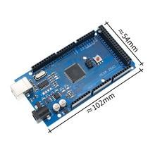 10PCS SAMIORE ROBOT MEGA2560 MEGA 2560 R3 (ATmega2560 16AU CH340G) AVR scheda USB con/senza Cavo USB