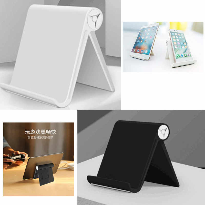 High Quality Foldable Adjustable Angle Desk Phone Holder Tablet Holder Stand For iPad Kindle Stand Mount for iPhone for Samsung