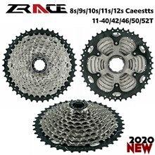 Велосипедная кассета ZRACE, 8 9 10 11 скоростей, свободное колесо для горного велосипеда, 11-42T / 11-46T / 11-50T / 11-52T для ALIVIO / DEORE / SLX / XT