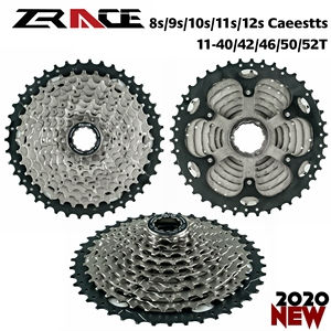 ZRACE Bicycle Cassette 8 9 10 11 Speed MTB bike freewheel 11-42T / 11-46T / 11-50T / 11-52T for ALIVIO / DEORE / SLX / XT