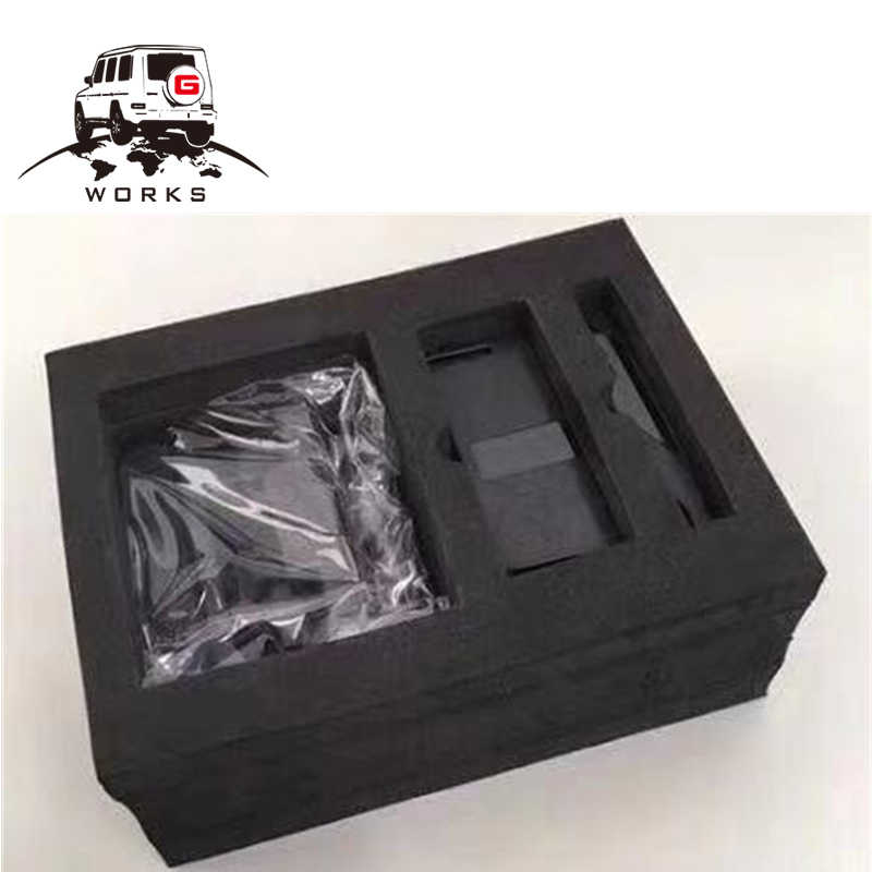 Support de téléphone portable de véhicule de classe G W463 adapté à la classe G W463 G55 G63 G65 90-18y