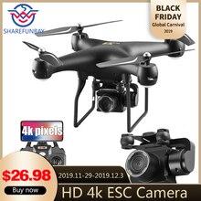 drone S32T вращающийся Квадрокоптер с камерой 1080 P HD аэрофотосъемка воздуха давление парение вертолет с камера дрон квадрокоптер с камерой квадрокоптер с камерой профессиона квадракоптер квадракоптер