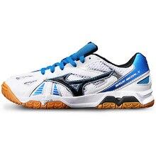 Новое поступление Mizuno Обувь для настольного тенниса для мужчин и женщин Pro дышащие Нескользящие кроссовки