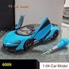 LCD 1:18 McLaren 600LT sports car model alloy full open car model car model collection