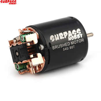 Surpass 540 13T 17T 21T 23T 27T 35T 45T 55T 80T Brushed Motor for RC Car 1/10 Rock Crawler 4WD Vehicle RC Car Parts RC Motor - DISCOUNT ITEM  12% OFF All Category