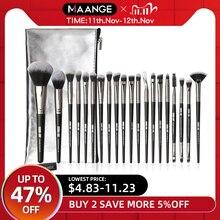 MAANGE Pro 5 20Pcs Makeup Brushes Set Multifunctional Brush Powder Eyeshadow Make Up Brush With Portable PU Case Beauty Tools