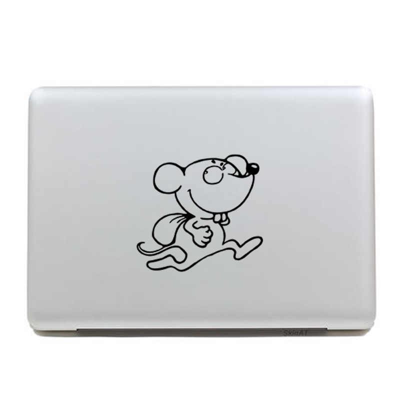 Del fumetto ladro del mouse decorazione della casa stickers autoadesivi dell'interruttore della parete della decorazione della parete stickers adesivi autoadesivi del computer materiale in polietilene J28
