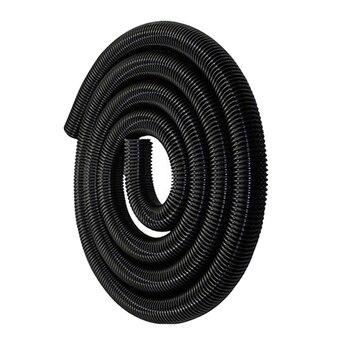 Elastyczny przewód węża, odkurzacz gwintowana rura przedłużenie węża do odkurzacza akcesoria akcesoria 50mm-czarny