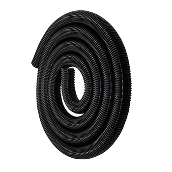 Flexible Tubing Hose Tube, Vacuum Cleaner Threaded Pipe Extension Hose For Vacuum Cleaner Attachments Accessories 50mm - Black