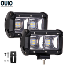 96 Вт 5 дюймов светодиодный рабочий светильник бар 6000k 4x4