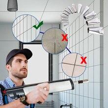 Caulk Nozzle Sealant-Finishing-Tool Finisher Bathroom Kitchen Silicone Applicator Stainless-Steel