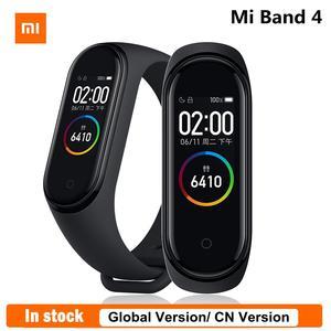 Mi-Band Smart-Bracelet Xiaomi 4-Fitness-Tracker Amoled-Screen Waterproof 5ATM In-Stock