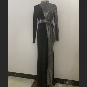 Image 5 - הרמדאן עיד מובארק נצנצים העבאיה דובאי טורקיה חיג אב מוסלמית Abayas תורכי שמלות לנשים בגדים האסלאמיים קפטן קפטן