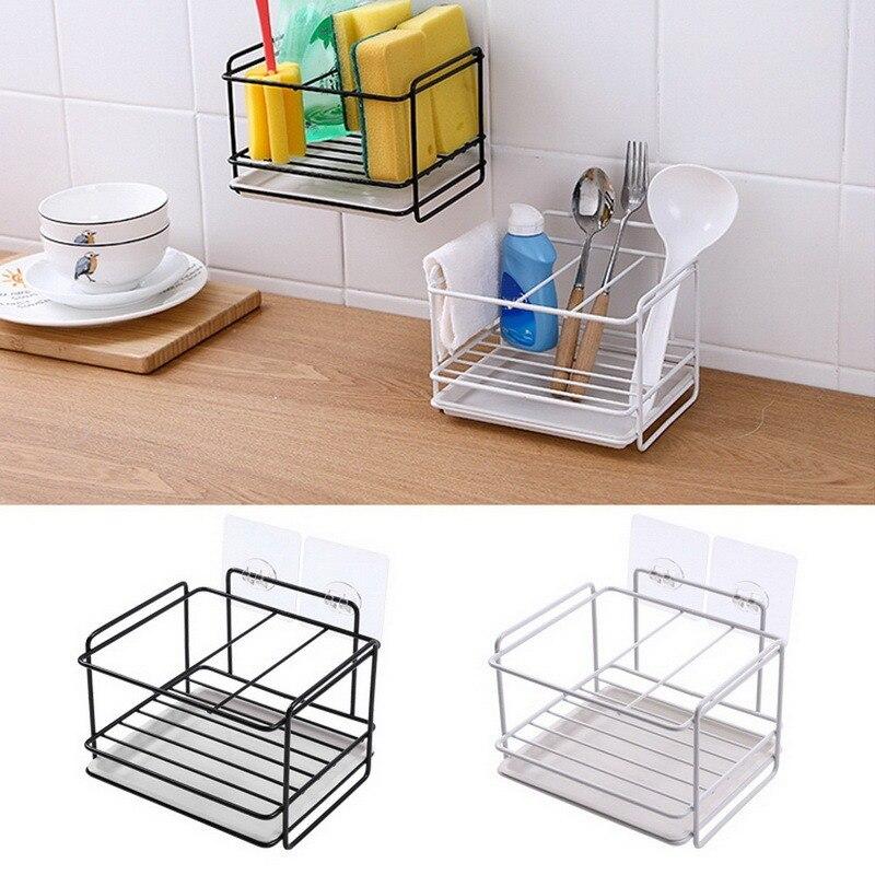 Hanging Storage Rack Kitchen   Dish Cloth Sponge Holder Storage Basket  Kitchen Organizer