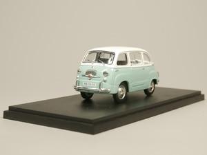 Image 1 - Ist 1:43 fiat 600 multipla diecast modelo carro