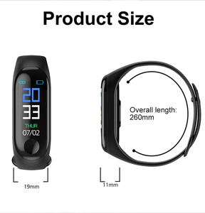 Image 5 - ConnectFit M3 Plus Bluetooth Smart Watch Heart Rate Blood Pressure Health Wristband IP65 Waterproof Fitness Tracker Watch M3