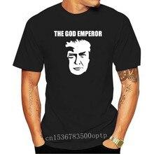 Tanrı İmparator Trump Meme Shirt komik MAGA başkanı en Kek Liberal gözyaşları abd