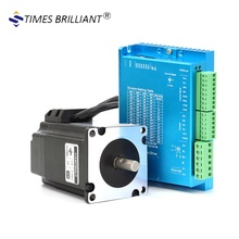 China supply CNC Nema23 2.2NM 4.2A hybrid servo Closed loop stepper motor with driver set