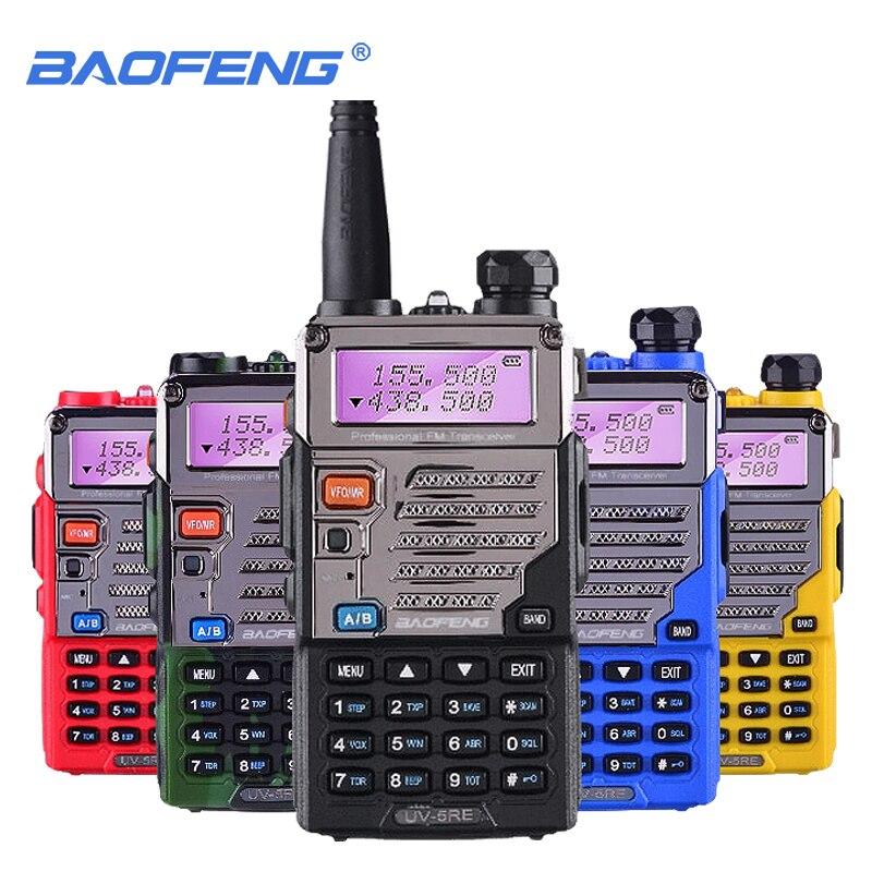 Рация Baofeng, 5 Вт, УВЧ и УКВ, SMA-FProfessional, CB Radio, HF, приемопередатчик, Baofeng UV5RE UV 5R UV5 Up, Градуированный мобильный телефон