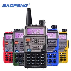 Baofeng UV-5RE Walkie Talkie 5W UHF&VHF SMA-FProfessional CB Radio HF Transceiver Baofeng UV5RE UV 5R UV5 Up Graded Mobile Phone
