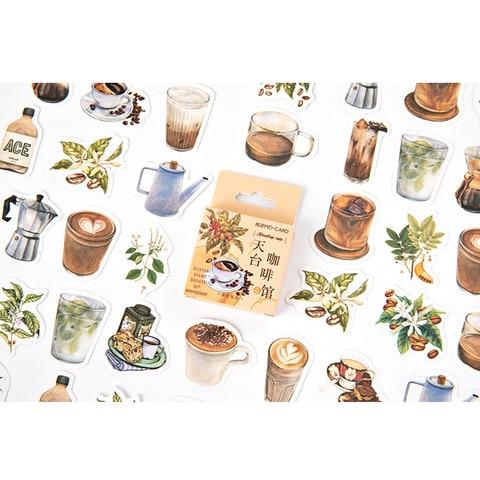 20 pacotes lote novo rooftop cafe adesivo