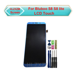 For BLUBOO S8 S8 lite LCD LCD Display With Touch Screen Digitizer Assembly Replacement With Tools+3M Sticker