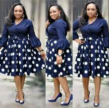 Hgte novo verão elegent moda estilo africano impressão feminina plus size poliéster vestido L-3XL