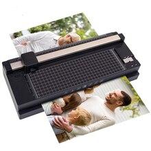 A3 Office Paper Cutter Photo Paper Sealing Film Gluing Machine Laminating and Cutting