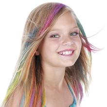 Kids Hair Chalk - JUMBO HAIR CHALK PENS - Washable Hair Color Safe For Kids And Teen - For Party, Girls Gift, Birthday Gift