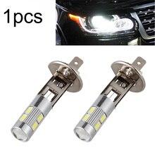 1 шт. 6000K DC 12V 5630 SMD 10 светодиодный H1 автомобильный противотуманный светильник для вождения лампа головной светильник лампа для вождения аксессуары для автомобиля