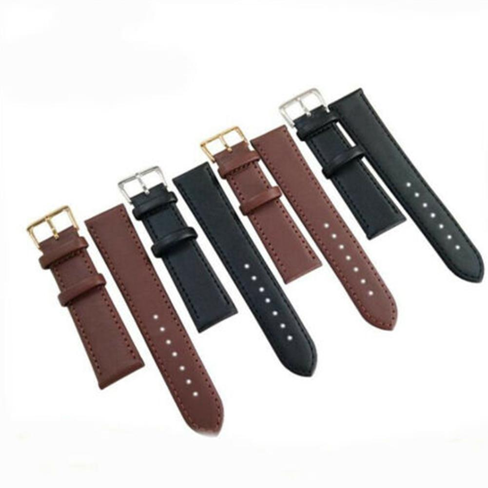 Black Blue Brown 28mm Silicone Watch Strap For Replacement Adjustable Comfortable And Waterproof Watchband