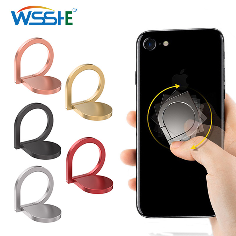 <font><b>360</b></font> Degree magnetic car phone <font><b>holder</b></font> <font><b>finger</b></font> <font><b>ring</b></font> supprot telephone Stand <font><b>Holder</b></font> For iPhone X 8 7 6 plus Xiaomi Phone attachment image