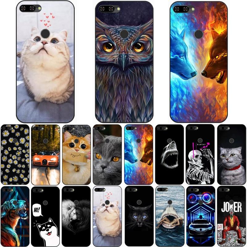 Для BQ 5528L STRIKE FORWARD чехол волк Силиконовые чехлы из ТПУ с изображением кота для животных в виде ракушки сумка корпус чехол для телефона чехол s
