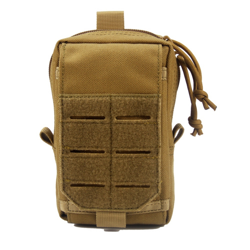 Military Tactical Molle EDC Pouch Small Utility Gadget Belt Waist Pack Phone Holder Medical Outdoor Camping Hiking Hunting Bags